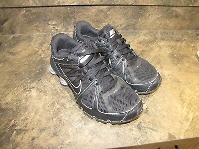 online retailer d4ee4 4d584 NIKE SHOX AGENT BLACK SILVER WOMENS 9 NICE USED V-CLEAN SNEAKERSsee  pics-details