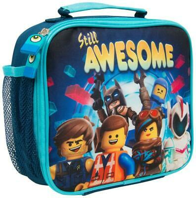 LEGO Movie 2 Lunch Bag For Kids Insulated Container Box School