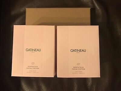 Gatineau Gentle Silk Facial Cotton 80 Pieces x 2 Brand New,Boxed and Sealed