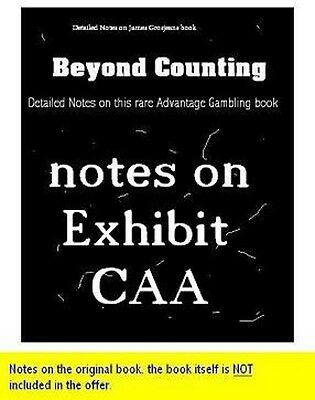 Detailed notes Beyond Counting Exhibit CAA 2009 and Hole Carding instruction DVD