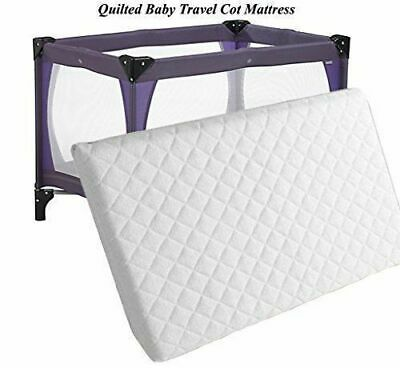 Thick Baby Travel Cot Mattress 100 x 70cm To fit Mother care / Argos Bed