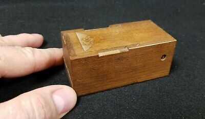 Antique Miniature American 19th Century Entomology Insect Field Examination Kit
