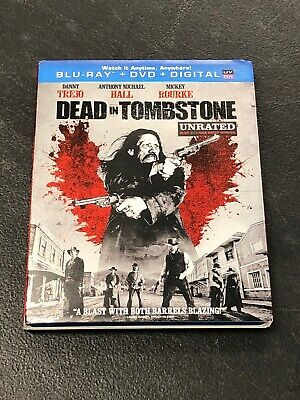 Dead In Tombstone Unrated Pre-owned Bluray And Dvd Set Without Digital Copy