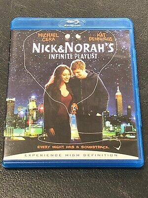 Nick & Norah's Infinite Playlist Pre-owned Bluray Disc Without Digital Copy
