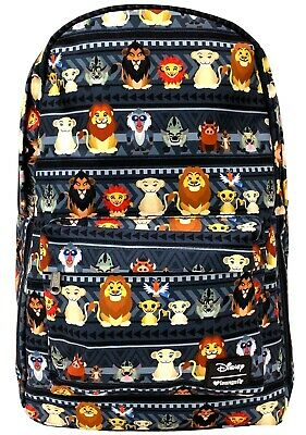 6ad95a53fdcd NEW Loungefly x Disney Lion King Chibi Nylon Backpack - SALE