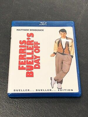 Ferris Bueller's Day Off Pre-owned Bluray Disc Bueller... Bueller... Edition