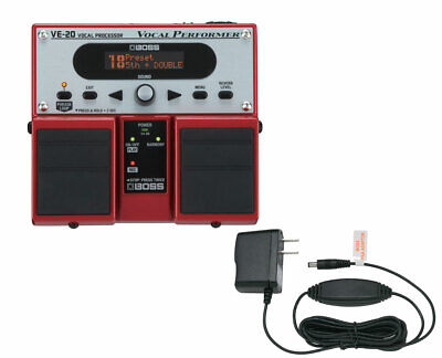 Boss VE-20 Vocal Performer + Power Supply