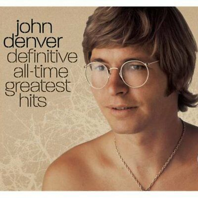 John Denver~Definitive All-Time Greatest Hits 2Cd Collection~Exc Cond~Rare Cuts