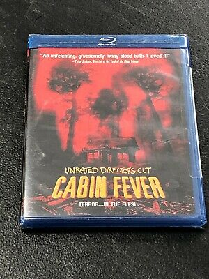Cabin Fever Unrated Director's Cut NEW SEALED Bluray Disc Movie