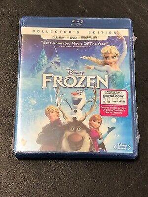 Disney Frozen NEW SEALED Collector's Edition Bluray DVD And Digital HD Movie