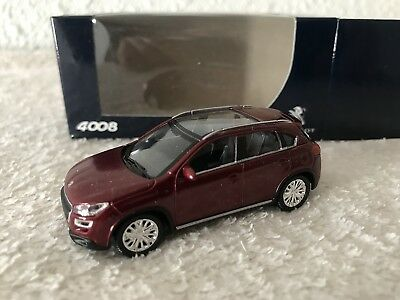 1/64 Peugeot 4008 red 3 inches NOREV