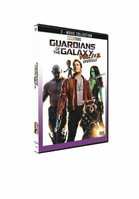 Guardians of the Galaxy Vol 1-2  DVD - New/Sealed - Free Postage