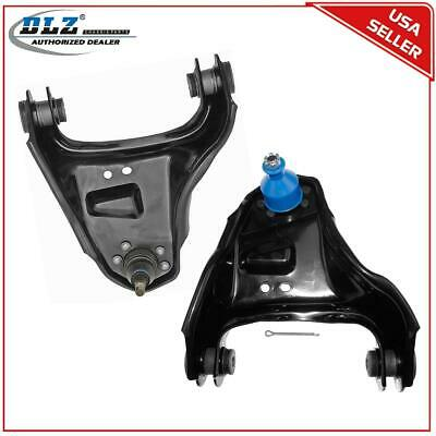 2 Front Upper Control Arms & Ball Joint Suspension For 1991-2004 GMC Jimmy 4WD