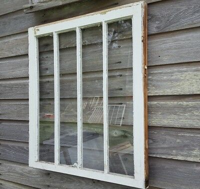 Vintage Sash Antique Wood Window Picture Frame Pinterest Rustic Wavy Glass Panes