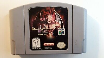 Killer Instinct Gold ( Nintendo N64 ) ** Authentic ** N64 Game FREE SHIPPING !!