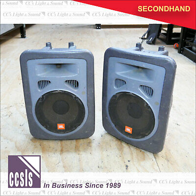 "JBL EON10 10"" & Horn Passive Speaker Grey - Sold as a Pair"