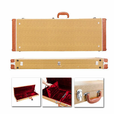 """Top Grade 41"""" Flat Surface Simple Style Electric Guitar Hard Shell Square Case"""