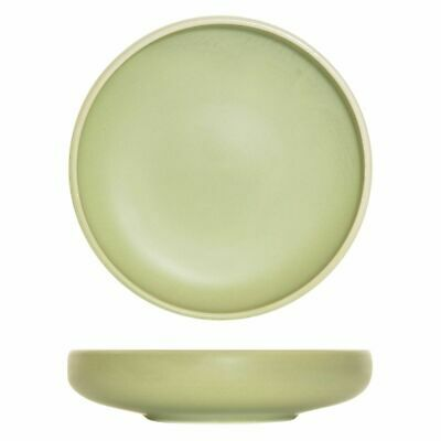 16x 2900ml Share Bowl Earth Green Round Big Moda Lush Cafe Commercial