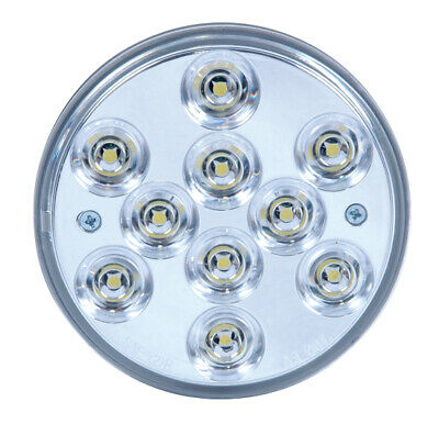 """Custer Super Bright 4"""" inch Round LED Back Up reverse Lights ( 2 Pack)"""