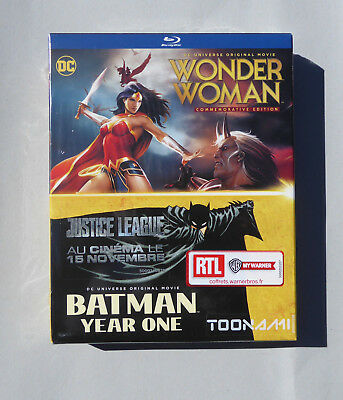 WARNER HOME VIDEO - DC Origin Story Coffret Blu-ray NEUF sous blister