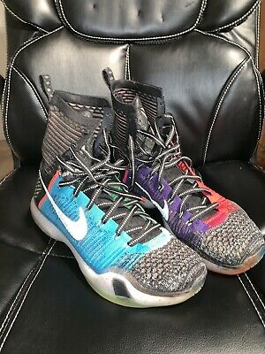 finest selection 10fc7 08fee 2015 Nike Kobe X 10 Elite Se What The Multi-Color Reflect Silver 815810-