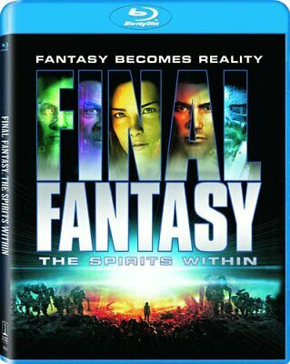 Final Fantasy: The Spirits Within (Blu-ray Disc, 2016) with Slipcover