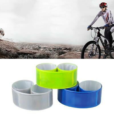 Bicycle Leg//Arm Pants Bands Strap Reflective Tape For Bike Cycling Accessories