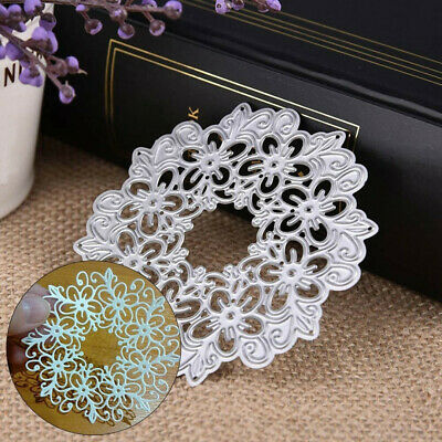 Craft Metal Cutting Dies Stencil Halloween Flower Wedding Baby Christmas Cards