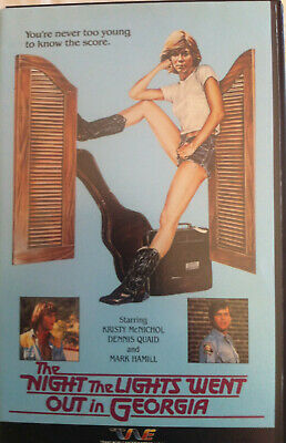 The Night the Lights Went Out in Georgia BETAMAX Kristy McNichol Dennis Quaid