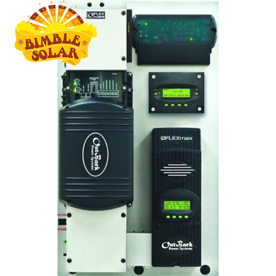 Outback FLEXPower ONE FXR System 3kW 48V - Complete Integrated pre wired System
