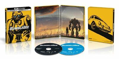 Bumblebee Best Buy SteelBook (4K Ultra HD Blu-ray, Blu-ray, Digital Copy)