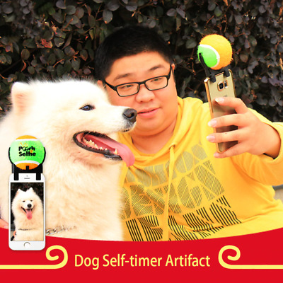 Dog Selfie ball and holder for phone camera