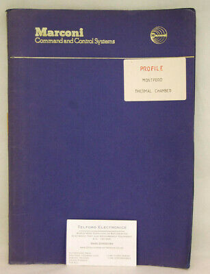 Montford Instruments Limited. Thermal Chamber Profile Handbook
