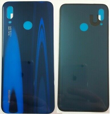 Back Cover Huawei P20 Lite Scocca Vetro Blu Blue Posteriore Ane-Lx1 Backcover