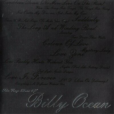 The Very Best Of Billy Ocean - NEW Music CD Compact Disc