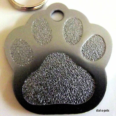 PET ID Dog & Cat Id Name - Disc Tags Colours Red, Blue Cheapest PRICE! ENGRAVED
