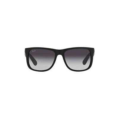 9f269908a3 Original Ray Ban Justin Sunglasses RB4165 Black 601 8G 51mm Gray Gradient  Lens