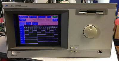 HP 16500B Logic Analysis System with 16555A Module - Working