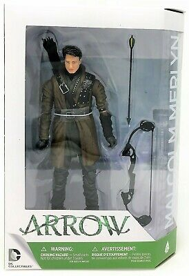 DC Collectible The Arrow Malcolm Merlyn Season 3 Action Figure Toy
