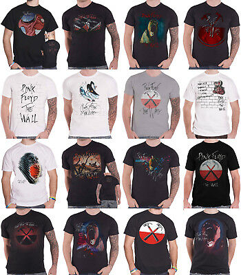 Pink Floyd T Shirt The Wall Roger Waters Hammers Scream Logo new Official Mens