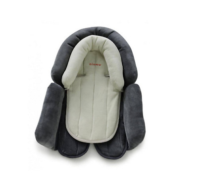 Brand new in pack diono cuddle soft head & body support in grey & cream