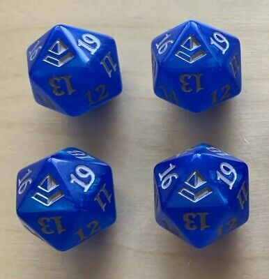 MTG 4x Amonkhet Spindown D20 Dice - (Lot of 4) - Magic: the Gathering