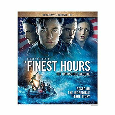 The Finest Hours [Blu-ray],Excellent DVD, Michael Raymond-James, Graham McTavish