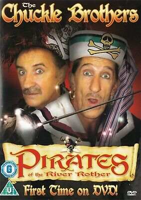 The Chuckle Brothers Pirates Of The River Rother - NEW Region 2 DVD