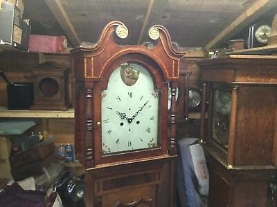 antique  grandfather clock  with a difference (is  working  )