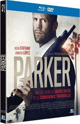 Blu-ray + DVD  :  PARKER  [ Jason Statham, Jennifer Lopez ]  NEUF cellophané