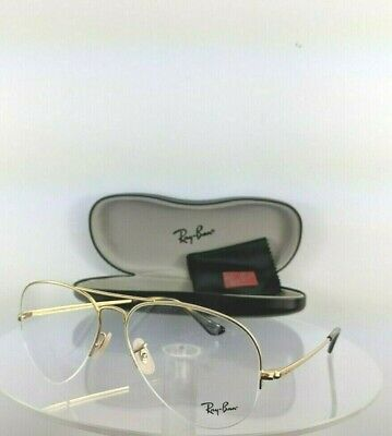 75a6e39887d1 Brand New Authentic Ray Ban Eyeglasses Rb 6589 2500 59Mm Gold Frame Rb6589