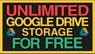 1+1Unlimited Google Drive Storage❤ Not Edu Domain 100% Secure