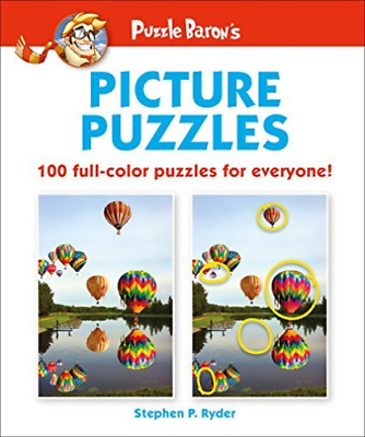 Ryder Stephen P.-Puzzle Baron`S Picture Puzzles BOOK NEW