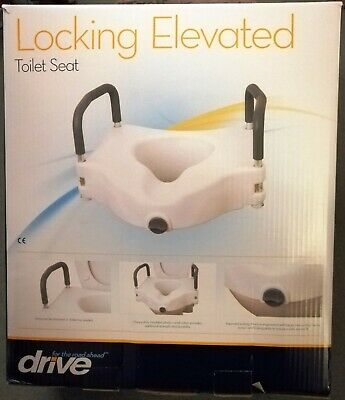 Drive 1 Raised Locking Elevated Toilet Seat - Never used
